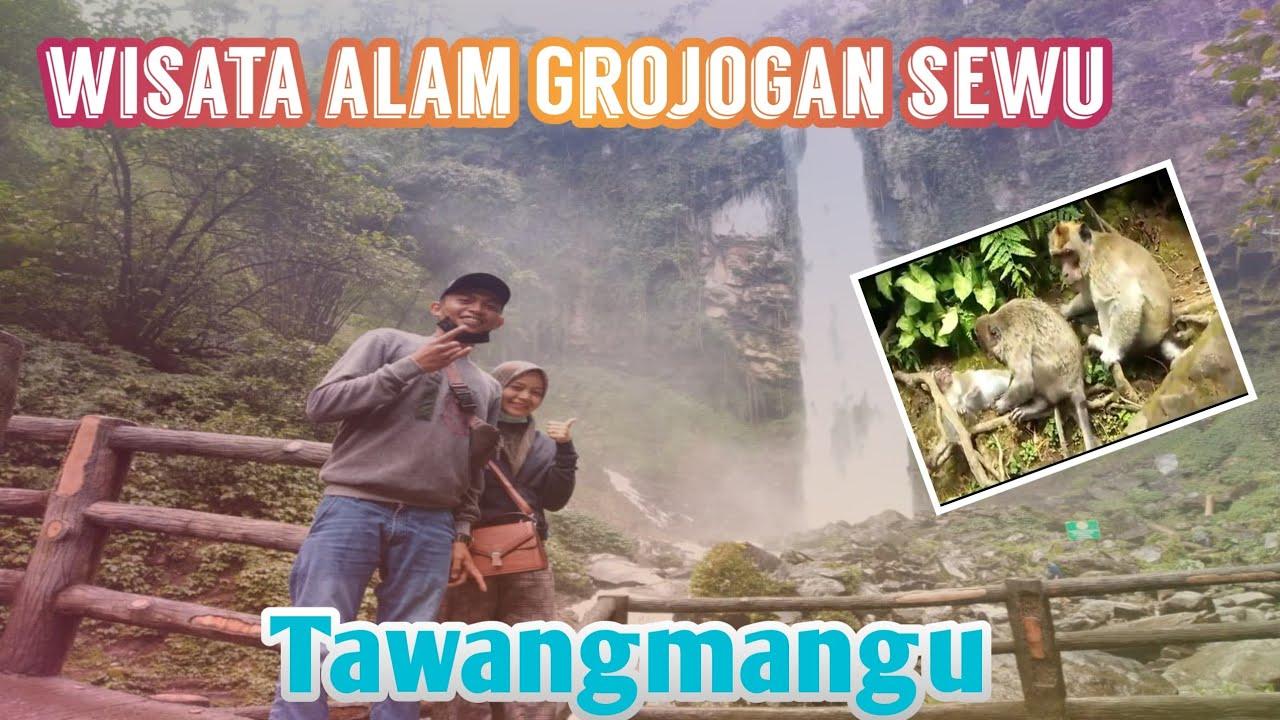 wisata Alam Grojogan Sewu Tawang mangu 2021