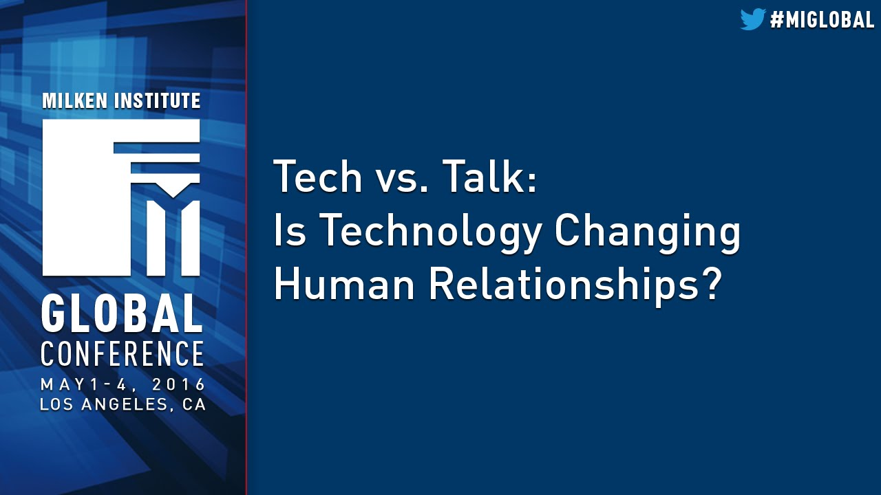 technology and human relationships