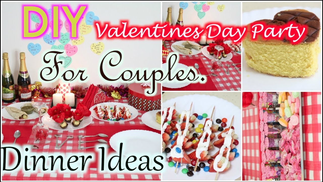 How To Decorate For Valentines Day | Party Food Treat| SuperPrincessjo    YouTube