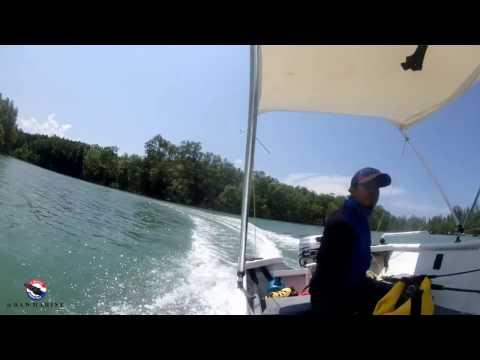 SAIL 8 HP  Boat 11 FT Aluminum by  X Teen thailand