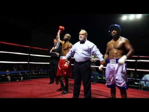 Savarese Promotions Ballroom Boxing Series CURTIS JOHNSON vs ROBERT HILL