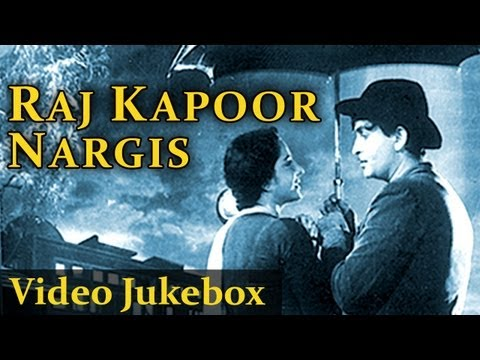 Raj Kapoor & Nargis HD   Jukebox  Top 10 Raj Kapoor Nargis Songs