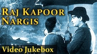 Raj Kapoor & Nargis - Jukebox - Top 10 Raj Kapoor Nargis Songs