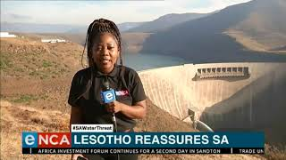Lesotho reassures South Africa