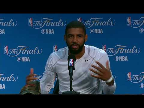 Kyrie Irving FULL Interview Before Game 5 | Media Day Availability