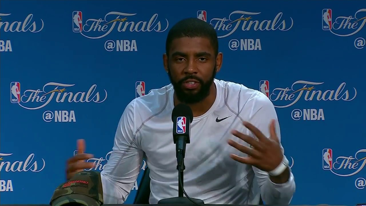 Kyrie Irving FULL Interview Before Game 5 | Media Day Availability - YouTube