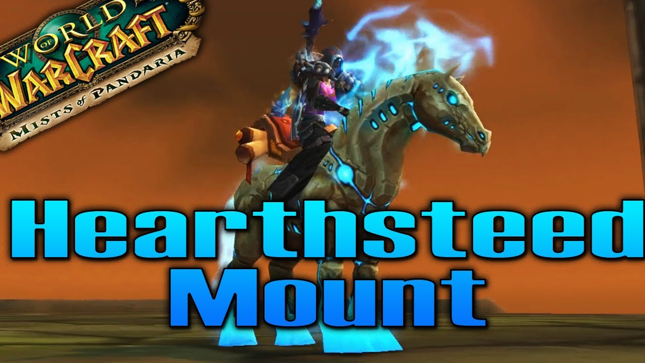how to get the hearthsteed mount