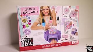 Project Mc² | H2O Nail Science Kit | Demo