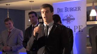Mr PE 2013 Sponsor Evening: Peter Myburg