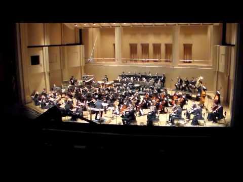 Metropolitan Youth Symphony Portland (MYS) Tchaikovsky Symphony No,. 4, winter concert