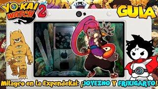 Milagro en la Expendekai: ¡JOYEZNO Y FRIKIGARTO! - Yo-kai Watch 2: Fantasqueletos y Carnánimas