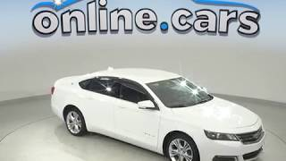 A99564YT Used 2014 Chevrolet Impala LT FWD 4D Sedan White Test Drive, Review, For Sale