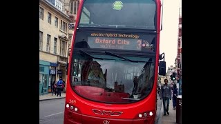 Oxford Bus Company Volvo B5LH Wright Eclipse Gemini 365 V15OXF. Route 3 Rose Hill To City Centre