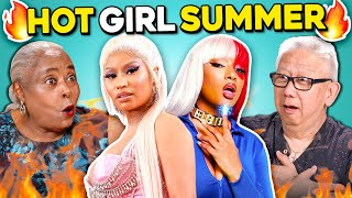 Elders React to Hot Girl Summer (Megan Thee Stallion, Nicki Minaj)