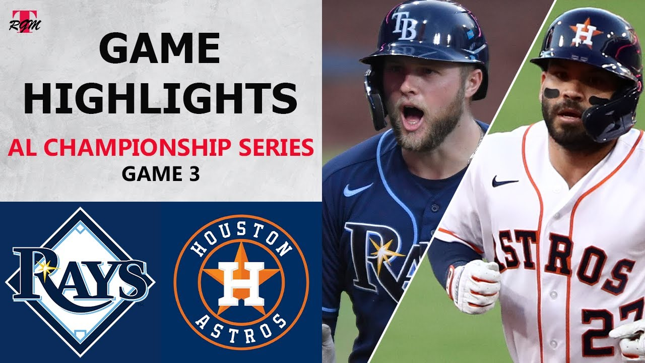 Tampa Bay Rays vs. Houston Astros Game 3 Highlights | ALCS (2020)