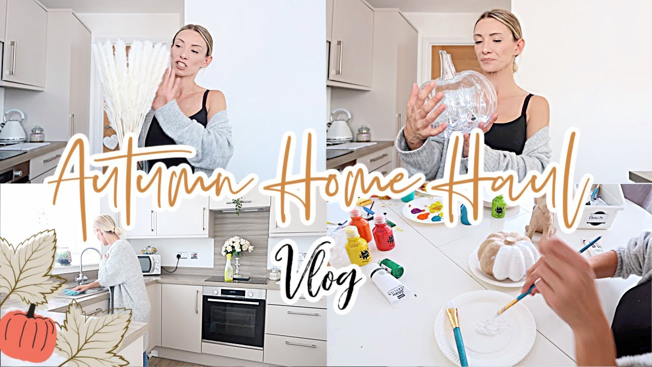 AUTUMN HOME HAUL 2020 // I'VE CHANGED MY LIVING ROOM AROUND // DITL VLOG
