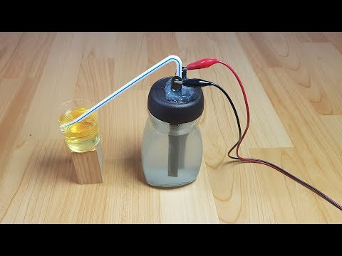 How to Make a Hydrogen Generator HHO, Home Experiments | Sagaz Perenne