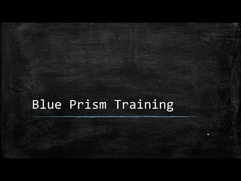 Blue Prism Video Tutorial | 001 | Welcome