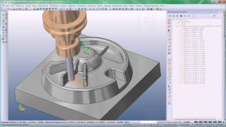 VISI Machining - Produktvideo ''Adaptives Kernschruppen''