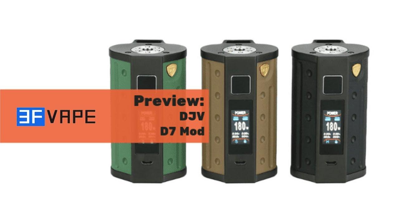 DEJAVU DJV D7 180W Mod