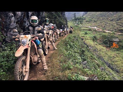 Vietnam's Best Off-road Motorbike Route In The Northern Part From Hanoi | Offroad Vietnam