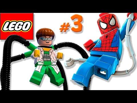 🐈 ЛЕГО мультик ИГРА про Супергероев #3 Мистер Фантастик, Капитан Америка и Человек Паук
