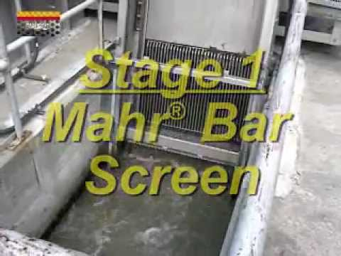 Headworks Two Stage Screening System Protects Membranes from Fouling