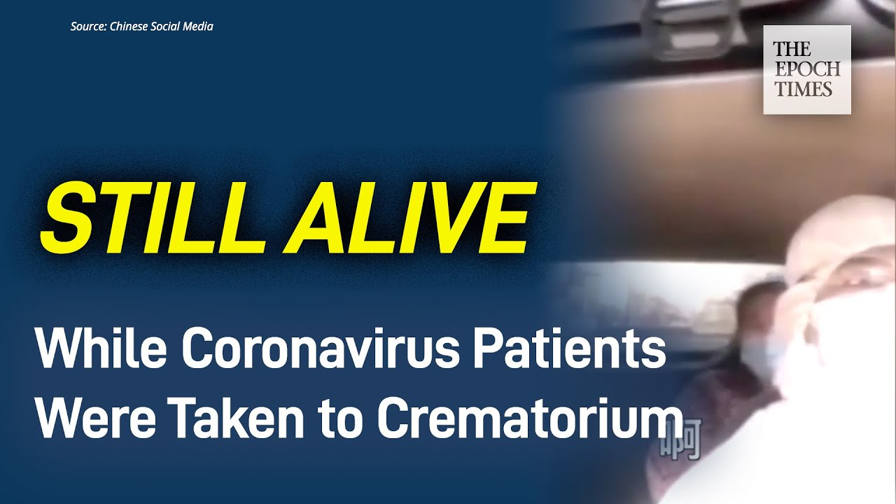 Woman Released from Hospital: Coronavirus Patients Were Taken to Crematorium While Still Alive - Epo