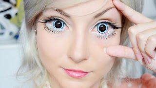 As Maiores Lentes de contato! The biggest contact lens! (eng subs)( 한국어 자막 ) thumbnail