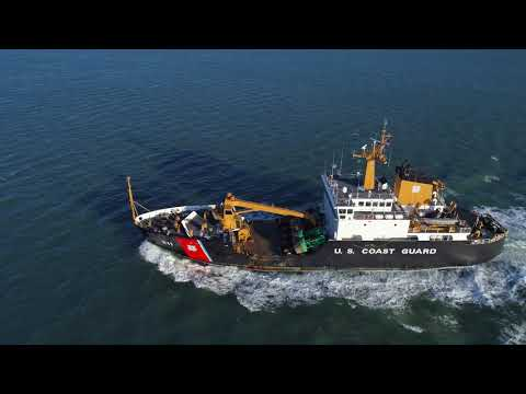 USCGC Buoy Tender Oak WLB 211 - Phantom 4 Pro