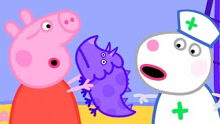 Peppa Pig English Episodes | Peppa Pig And Dinosaurs | Peppa Pig Official