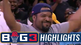 3-Headed Monsters vs Ghost Ballers | BIG3 HIGHLIGHTS