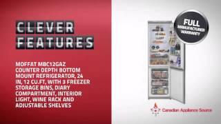 Moffat Mbc12gazss Counter Depth Refrigerator