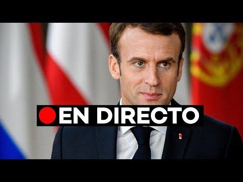 🔴 EN DIRECTO: Discurso de Macron sobre las protestas de los 'chalecos amarillos'