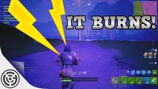 Burnin' In The Storm - Fortnite