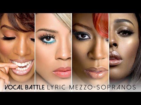 Vocal Battle | Lyric Mezzo-Sopranos: Kelly Rowland, Keyshia Cole, K. Michelle, Alexandra Burke