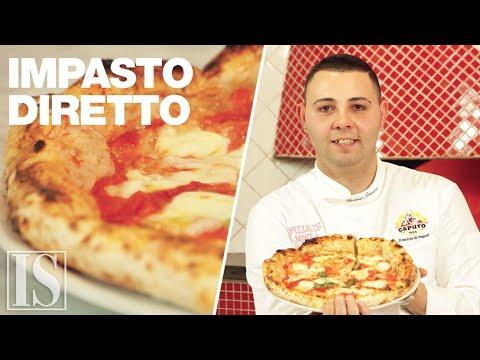 Impasto della pizza diretto - Vincenzo Iannucci