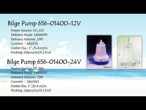 Bilge Pump/Supply marine hardware/boat accessory/Groundhog Marine Hardware