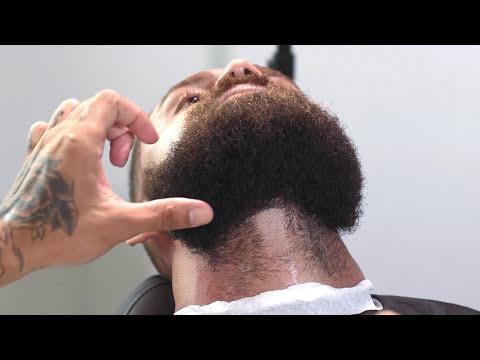 Degrade com barba lenhador Jefferson Braz