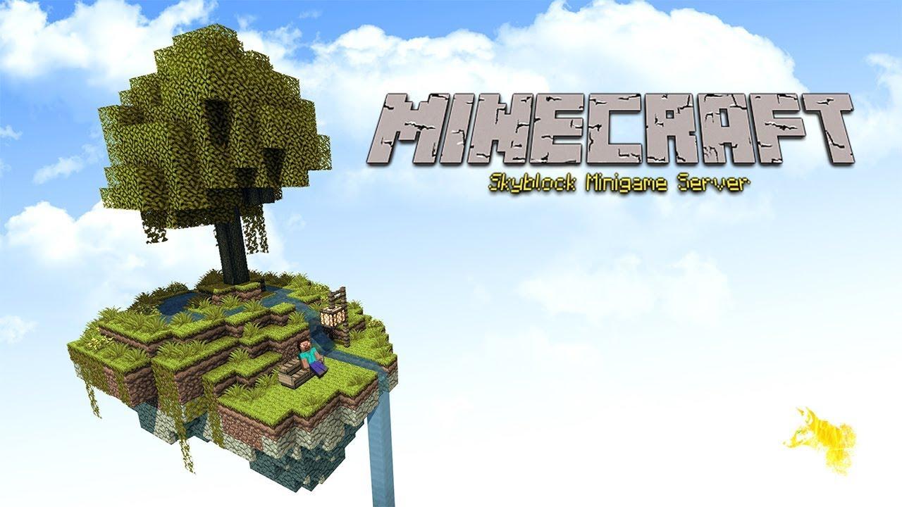 Minecraft Skyblock Minigame Cracked Server 8.88.8