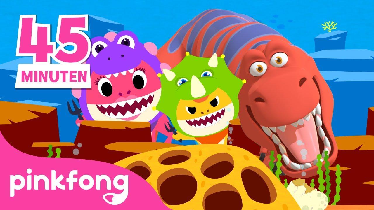 Baby-Hai, Mama-Hai und..?!   Baby Shark Deutsch   +Playlist Mix   Pinkfong! Baby Hai