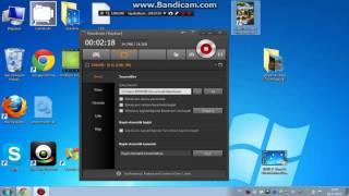 Bandicam - Oyun Videosu Nasıl Çekilir - Sesli Anlatım
