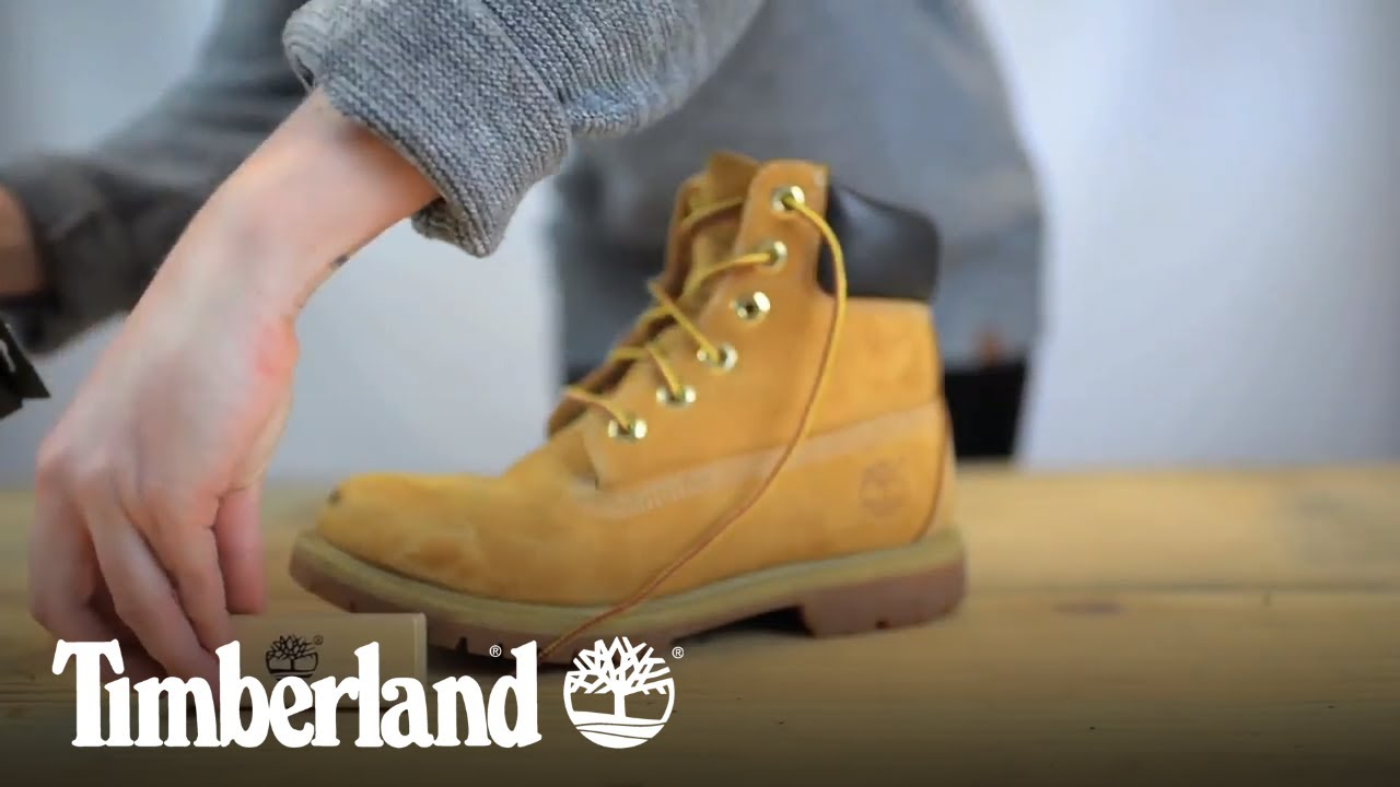 enlever tache chaussure timberland