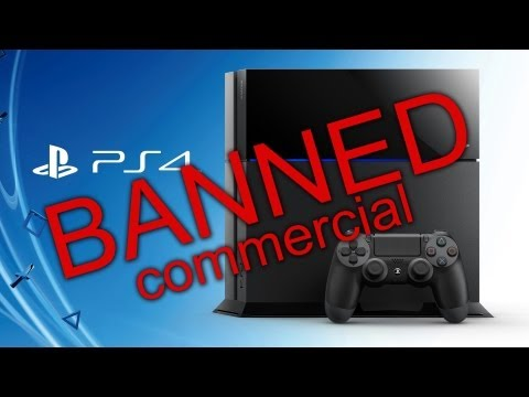 BANNED Playstation 4 Commercial: Features, Specs, Pricing