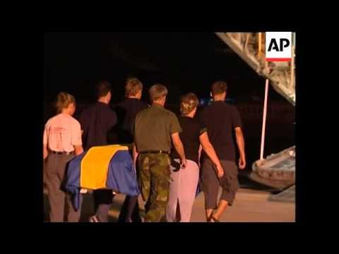 Repatriation Ceremony For Swedish Tsunami Victims