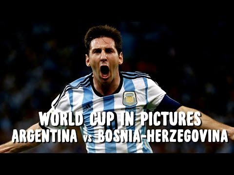 World Cup In Pictures: Lionel Messi Goal Earns 3 Points For Argentina Over Bosnia-Herzegovina