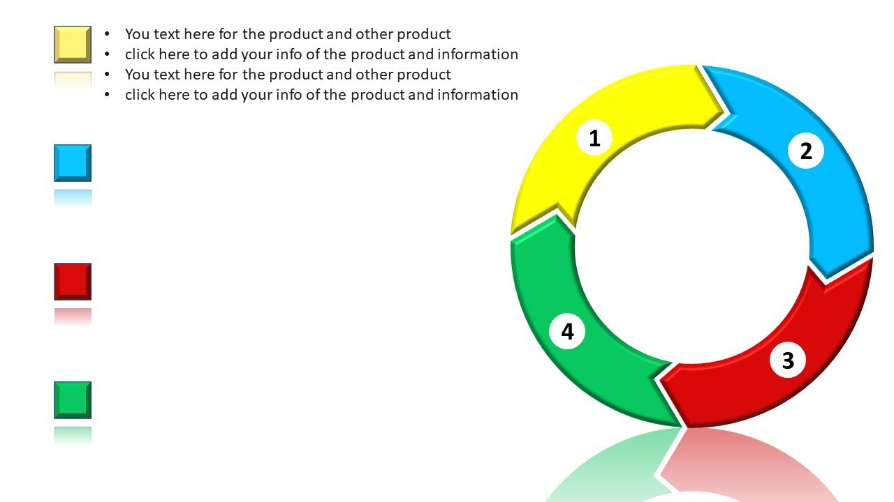 Create 4 Step Circular Infographic Ppt Presentation Graphic Design Free Powerpoint Template 19 Youtube