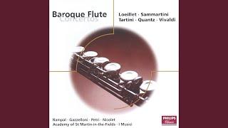 Loeillet: Concerto pour flûte et orchestre en ré majeur - 2. Grave