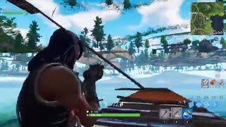 Super Op Loot Lake Fortnite under Map Glitch! God Mode! Can Kill Other Players! Tutorial!