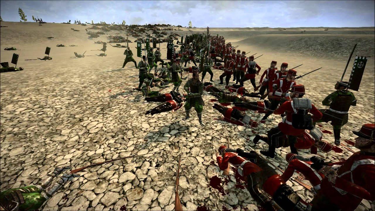 Shogun 2 Big Battle : Fort Wagner Larger Defense 2 - YouTube